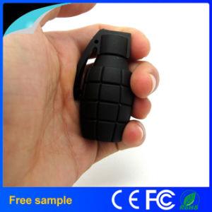 Бесплатные образцы рекламных бомба взорвалась граната ПВХ USB флэш-диска