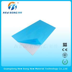 Adhésif de couleur bleu PE des films de protection pour l'aluminium miroir