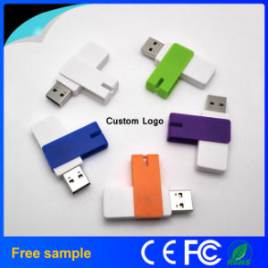 OEM-производитель 4ГБ поворотный диск USB Flash для рекламных подарков
