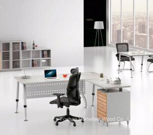 Un design moderne de la mélamine Gestionnaire de bureau Mobilier de bureau en bois de table (HF-BSA03)