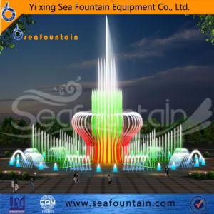 A Interactive Trevi Fountain piso de ardósia natural