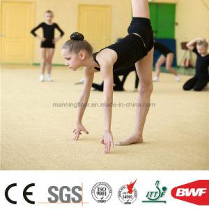 4mmの耐久性の高品質のダンス部屋のビニールの床のカーペットのメロディー