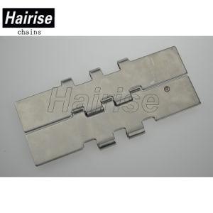 Flexible en acier inoxydable ISO Flat Top La chaîne du convoyeur