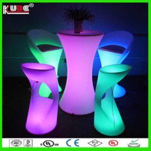 Bar Mesas Mobiliário Eventos LED RGB Fonte de Luz