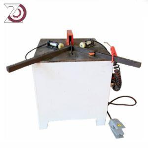 Coin de l'angle hydraulique V Machine de découpe de l'encoche pour les petites entreprises de feuille de métal