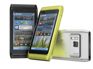 Telefone celular N8-00 com Bluetooth