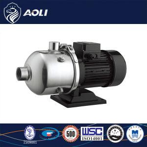 Pompa centrifuga a più stadi chiara dell'acciaio inossidabile ss 304 di Chlhorizontal