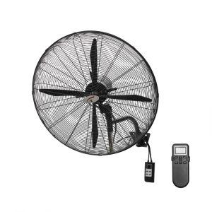 Hot Sale grande puissance industrielle avec panneau de commande du ventilateur de mur & IR Moteur synchrone à distance