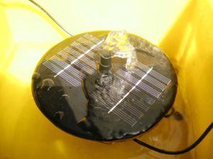 Sound pompe solaire