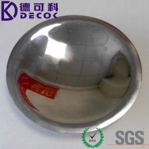 Padellame di plastica a gettare Dishes&Plate della festa nuziale rivestita rotonda dell'acciaio inossidabile