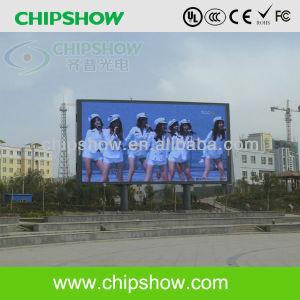 Chipshow P10mm pleine couleur Affichage LED de la publicité extérieure
