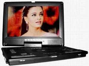텔레비젼 DVB-T (DM-1199)를 가진 휴대용 DVD 플레이어