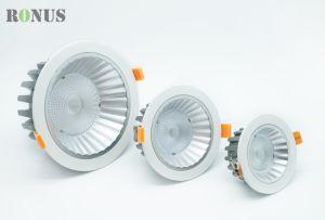 Casa ampliamente usado MAZORCA LED Lámpara de techo abajo Downlight iluminación interior