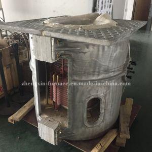 1ton forno de indução de fusão de ferro para venda (1000 kg)