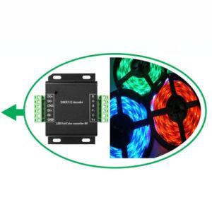 Le SMD5050 10mm 30 LED 7.2W/M souple de changement de couleur RVB Bande LED témoin de corde