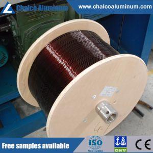 L'émail isolé sur le fil en aluminium
