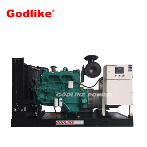 熱い販売350kVA/280kwのディーゼル発電機のCumminsの無声発電機