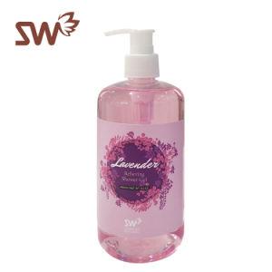 Gel dell'acquazzone della Rosa con olio essenziale puro per l'idratazione del corpo