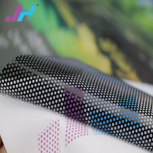 Película adesiva removível a visão de uma via de PVC
