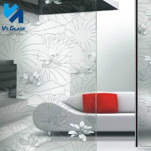 vetro rivestito di arte della vernice libera del galleggiante di 4-6mm per la decorazione