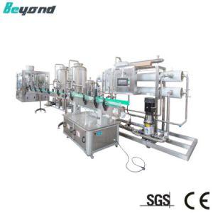 Caixa de suco quente Aquecedor do líquido arrefecedor e enchimento de bebidas e limitação da linha de máquinas de embalagem