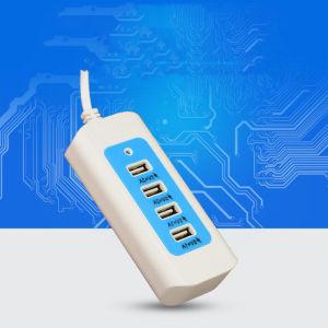 Многофункциональный 4 порта USB для настольных ПК поездки настенное зарядное устройство для сотового телефона Смартфоны планшетные ПК