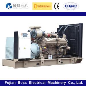 Cummins Engineのディーゼル発電機セットのディーゼルGensetによって動力を与えられる60Hz 725kw 906kVAのWater-Coolingの無声防音