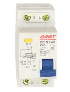30mA 100mA de corrente residual de baixa tensão AC Disjuntor