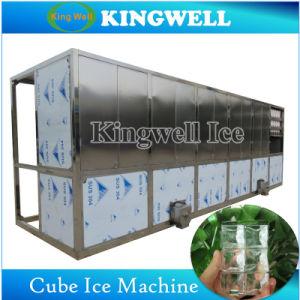 棒または冷たい飲み物のための1トンの食用の立方体の製氷機械