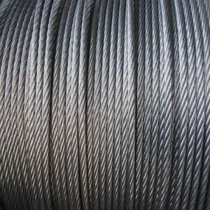 corda galvanizzata 8X19s del filo di acciaio per l'elevatore