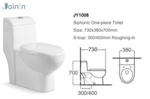 Gesundheitliches Ware-Badezimmer-keramische Arbeitskarte-Toilette von Chaozhou (JY1008)