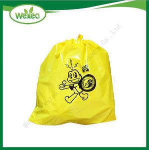 Proporcionar alta Qulality fábrica China bolsa de basura de plástico con impresión