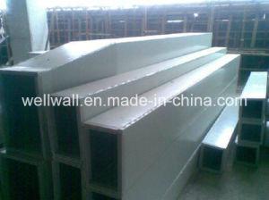 Doubles couches conduit d'enduit d'aluminium pour système de CVC