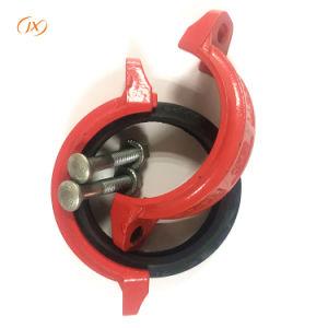 Accesorios de tubería ranurado de hierro dúctil para conexión de tubería