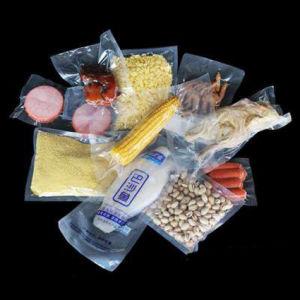 Настраиваемые непосредственно на заводе без питания образцы пластика PA / PE рельефным вакуумных пакетов для производства продуктов питания