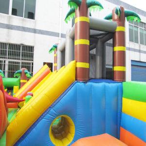 Kids Zoo inflables Jumping Castillo Deslice el parque de juegos