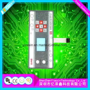 Comitato dell'interruttore di membrana del forno a microonde con il connettore ed il cavo