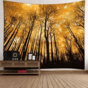 Floresta de Impressão Digital personalizado tapeçarias penduradas na parede