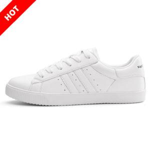 Shoe Casual Women Shoes 2018の卸売の余暇の履物の白人の女性