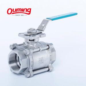 China 3 PC 4 polegadas de 1000 Wog motorizado de Aço Inoxidável Preço da válvula esférica eléctrica