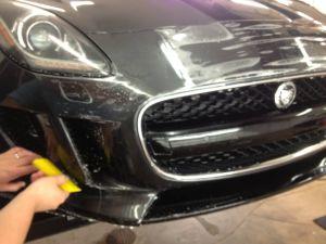Résistant aux taches hydrophobes Film de protection de voiture de réparation automobile