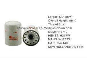 Filtro de aceite de calidad original de LF125 LF9001 LF9000 para motor Cummins