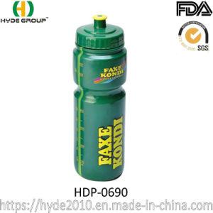 Grande capacidade de plástico sem BPA Sport garrafa de água (HDP-0690)