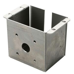 Één Roestvrij staal van de Delen van het Metaal van de Dienst van de Vervaardiging van het Metaal van het Blad van de Oplossing van het Einde
