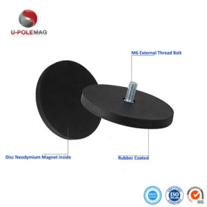 De Magneet van de Pot van het neodymium met Schroef voor de Basis van de Holding