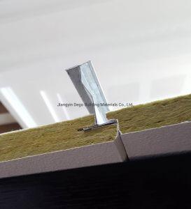 Дружественность к окружающей среде Звукоизоляция акустический минерального волокна стеклянный потолок