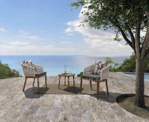 Nuevos populares ocio moderno aluminio Rattan conjuntos de jardín muebles de exterior