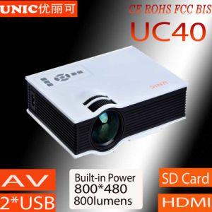 LED портативный проектор UC40