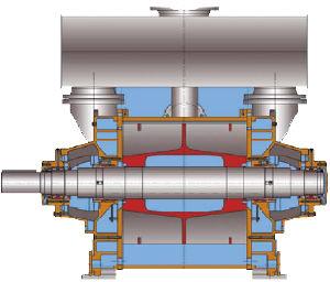 De vloeibare Vacuümpomp van de Ring (2BE1406)