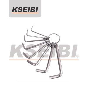 8PCS mettono l'anello in cortocircuito chiave di titanio stabilito di tasto Hex di lunghezza